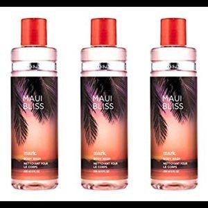 3 Mark by Avon Maui bliss body wash shower gel 8oz